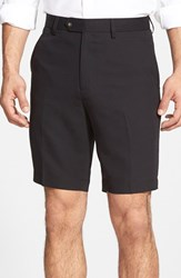 Men's Big And Tall Cutter And Buck Microfiber Twill Shorts Black