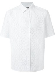Burberry Lace Shirt White