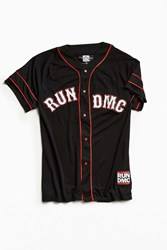 Urban Outfitters Run D.M.C. Baseball Jersey Black