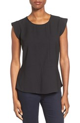Pleione Women's Seam Detail Peplum Top