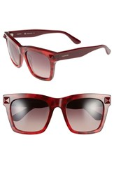 Women's Valentino 'Rockstud' 54Mm Sunglasses