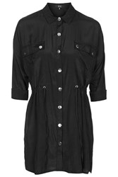 Independent Shirt Dress By Goldie Black
