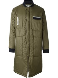 Henrik Vibskov Padded Coat Green