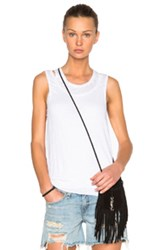 Rag And Bone Rag And Bone Jean Double Layer Tank Top In White