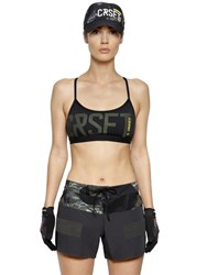 Reebok Crossfit Tech Jersey Sports Bra