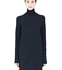 Rick Owens Long Moody Cashmere Sweater Black