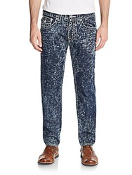 True Religion Flap Pocket Skinny Jeans Blue