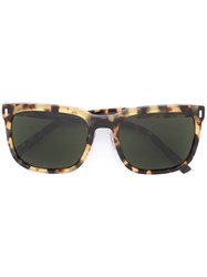 Dolce And Gabbana Square Frame Sunglasses Nude And Neutrals