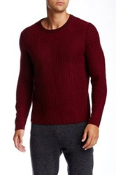 Quinn Ray Textured Honeycomb Cashmere Sweater Multi