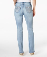 Earl Jeans Embellished Light Wash Bootcut