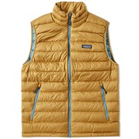 Patagonia Down Sweater Vest Brown