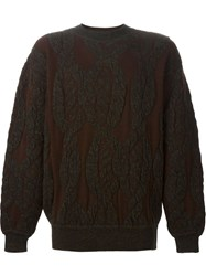 Issey Miyake Vintage Oversized Sweater Brown