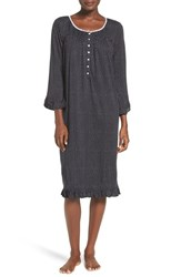 Eileen West Women's Polka Dot Modal Nightgown
