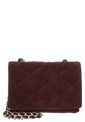 Abro Across Body Bag Burgundy Bordeaux