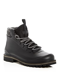 Barbour Zed Rubber Hiking Boots Black