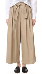 Tome Cotton Sateen Karate Pants Khaki