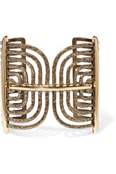 Lanvin Elvira Gold Plated Cuff