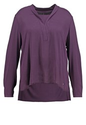 Triangle Blouse Luxury Lilac