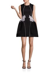 Nha Khanh Flight Of Fancy Sleeveless Dress Black