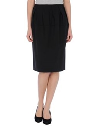 Aquilano Rimondi 3 4 Length Skirts Black