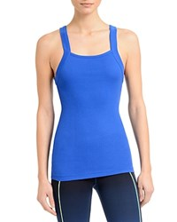 2Xist 2 X Ist Square Neck Ribbed Tank Coba Blue