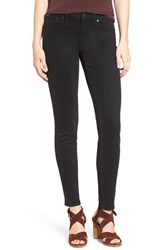 Madewell Women's Garment Dyed Skinny Jeans True Black