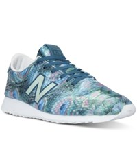 New Balance Women's 420 Peacock Casual Sneakers From Finish Line Green Light Green