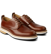 Want Les Essentiels Montoro Polished Leather Derby Shoes