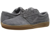 Lakai Griffin Xlk Grey Gum Suede Men's Skate Shoes Gray