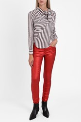 Etoile Isabel Marant Women S Ellos Metallic Jeans Boutique1 70Mr