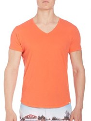 Orlebar Brown Lightweight Cotton T Shirt Coral