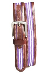 Men's Jack Mason Brand 'Tailgate Tcu Horned Frogs' Belt