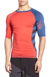 Men's Volcom 'Change Up' Short Sleeve Rashguard