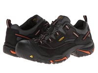 Keen Utility Braddock Low Black Bossa Nova Men's Work Lace Up Boots