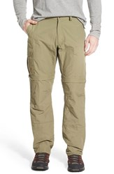 Fjall Raven Men's Fj Llr Ven 'Karl' Convertible Cargo Hiking Pants Light Khaki