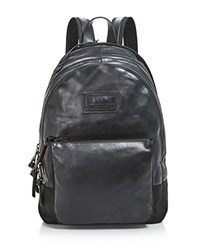 John Varvatos Star Usa Gibson Double Zip Backpack Black