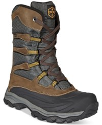 Khombu Fred Hi Top Weather Boot Men's Shoes Brown