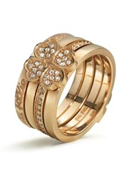 Folli Follie Eternal Heart Ring Rose Gold