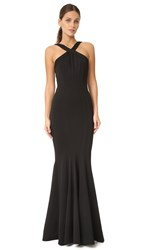 Zac Posen Reilley Gown Black