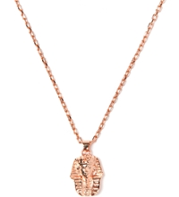 Mister Rose Gold Mr. Micro King Tut Necklace