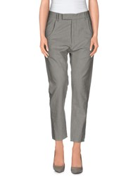 Novemb3r Trousers Casual Trousers Women Grey