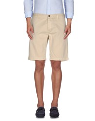 Pence Trousers Bermuda Shorts Men Beige