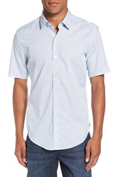 Boss Men's Robb Trim Fit Short Sleeve Sport Shirt