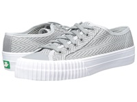 Pf Flyers Center Lo Zig Zag Grey Canvas Men's Lace Up Casual Shoes Gray