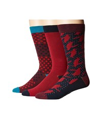 Ted Baker Draughs Red Men's No Show Socks Shoes
