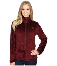 The North Face Osito 2 Jacket Deep Garnet Red Women's Coat Brown