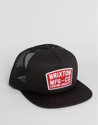 Brixton Trucker Cap National Black