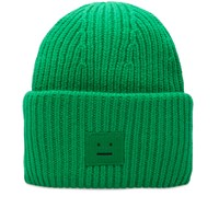 Acne Studios Pansy Wool Beanie Green