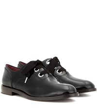 Marc Jacobs Patent Leather Oxford Shoes Black