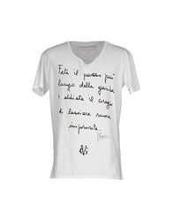 Happiness Topwear T Shirts Men White